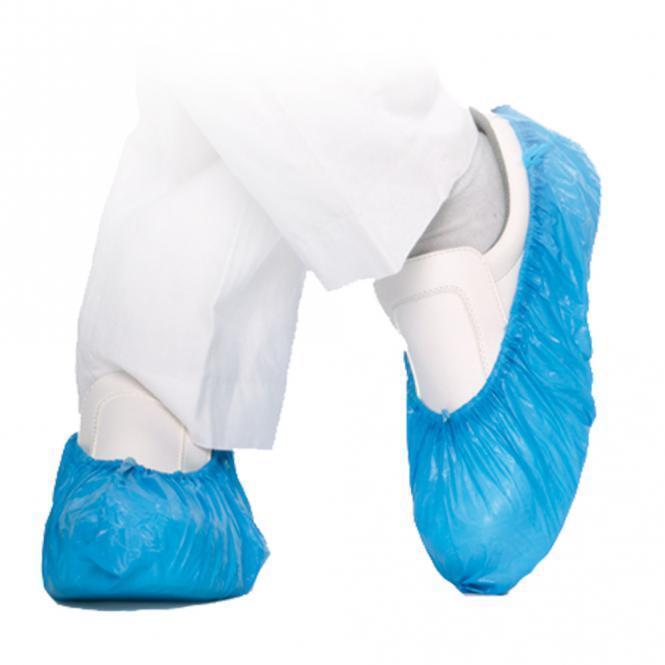 Copri scarpe blu